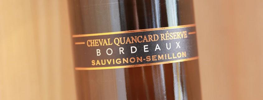 Cheval Quancard Réserve